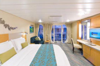 Central Park View Stateroom with Balcony on Oasis of the Seas