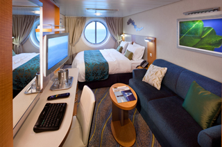Oceanview Stateroom on Oasis of the Seas