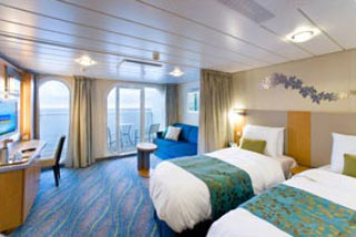 Family Stateroom with Balcony on Oasis of the Seas