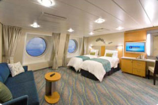 Family Oceaview Stateroom on Oasis of the Seas