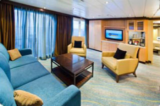 Royal Family Suite with Balcony on Oasis of the Seas