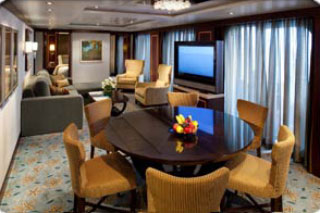 Presidential Family Suite with Balcony on Oasis of the Seas
