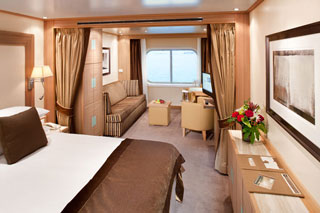 Cabins on Seabourn Sojourn