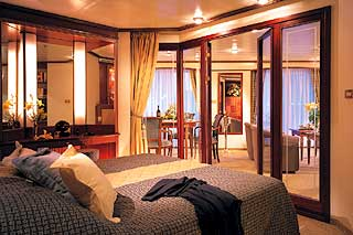 Cabins on Silver Whisper
