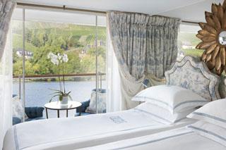 Balcony cabin on S.S. Antoinette