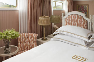 Oceanview cabin on S.S. Antoinette