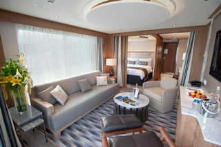 Suite cabin on Viking Delling