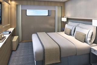 Oceanview cabin on Viking Kara