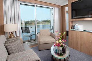 Suite cabin on Viking Skirnir