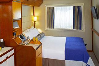 Oceanview cabin on Wind Star