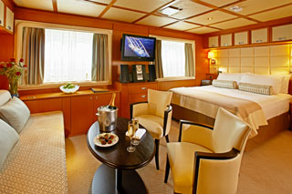 Suite cabin on Wind Star