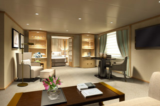 Cabins on Star Breeze