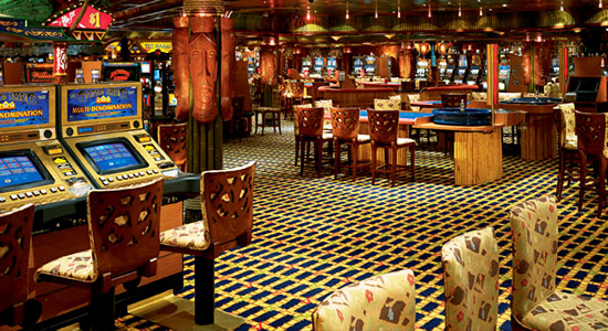 Tahiti Casino on Carnival Conquest