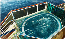 Spas on Carnival Miracle