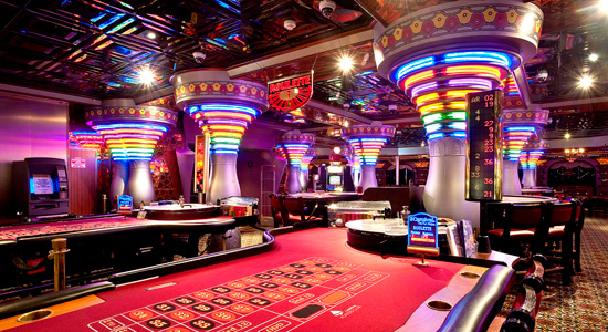 Casablanca Casino on Carnival Elation
