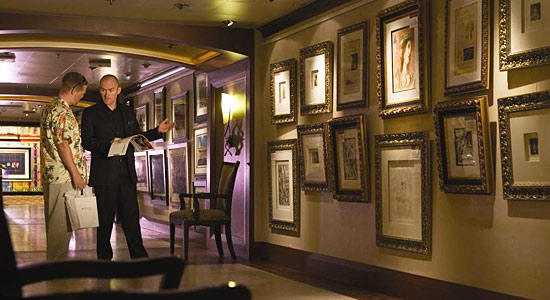 Art Gallery on Carnival Valor