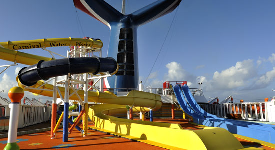 Water Works on Carnival Magic