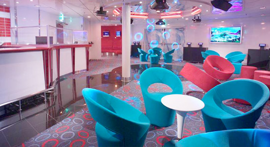 Club O2 on Carnival Fascination
