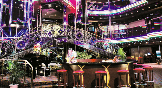 Lobby and Atrium Bar on Carnival Inspiration