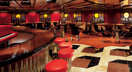 Billie's Piano Bar on Carnival Legend