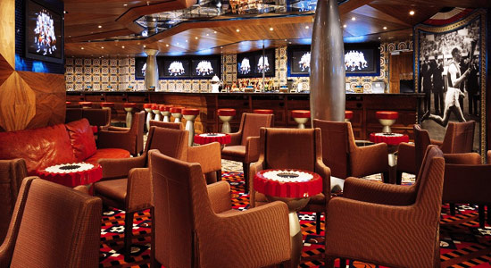 Dream Team Sports Bar on Carnival Legend