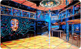 Medusas Lair Dance Club on Carnival Legend