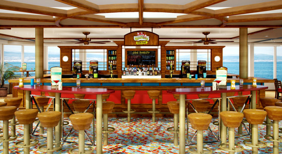 Red Frog Rum Bar on Carnival Sunshine