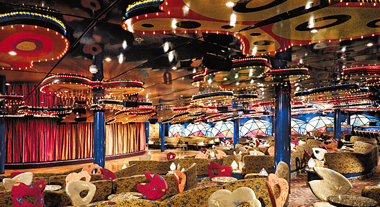 Butterflies Lounge on Carnival Pride