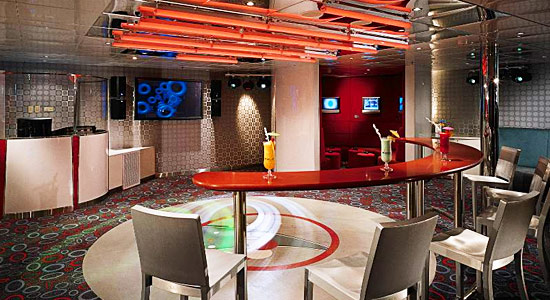 Club O2 on Carnival Legend