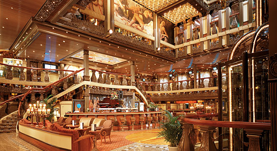 Lobby and Atrium Bar on Carnival Pride
