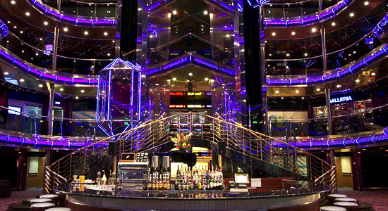 Lobby and Atrium Bar on Carnival Sensation