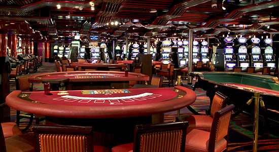 Club Vegas Casino on Carnival Sensation
