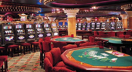 Club Monaco Casino on Carnival Triumph