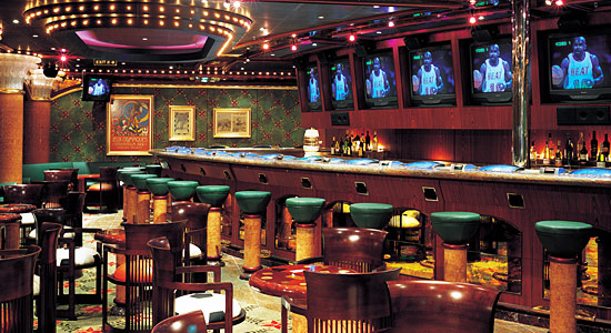 Olympic Sports Bar on Carnival Triumph