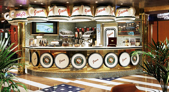 Java Cafe on Carnival Imagination