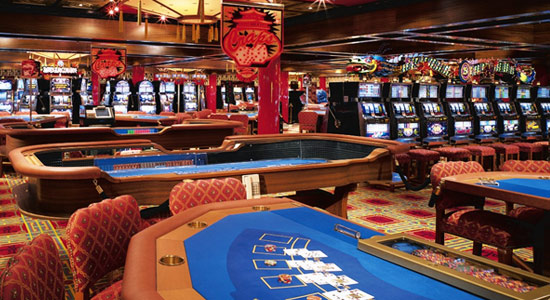 South China Sea Club Casino on Carnival Victory