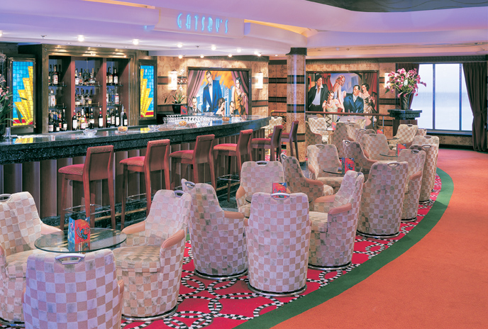 Gatsby's Bar on Norwegian Dawn