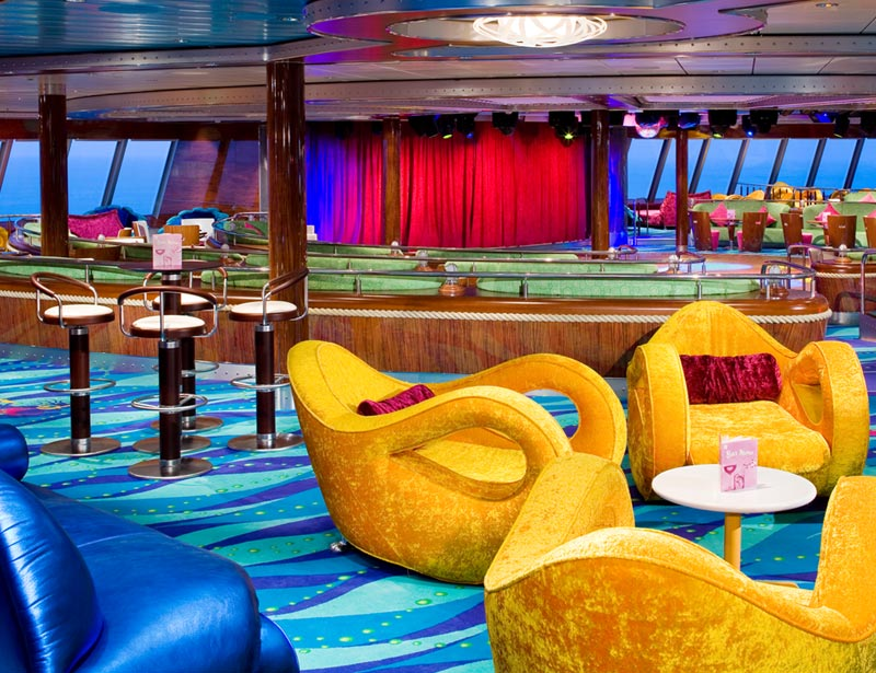 Spinnaker Lounge on Norwegian Dawn