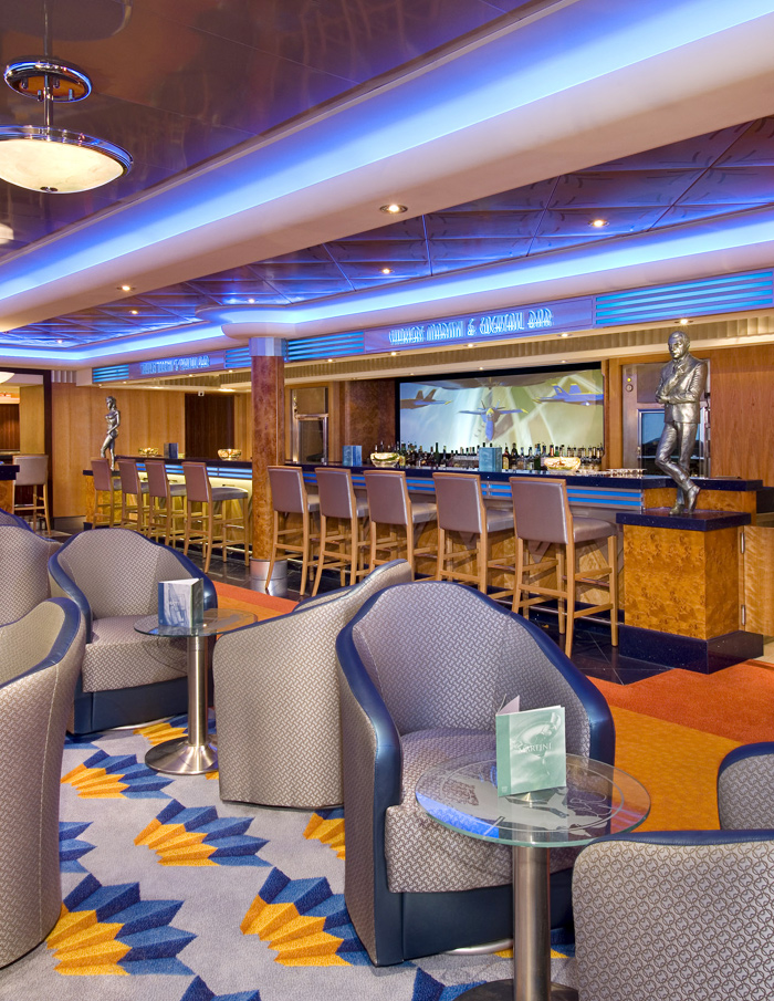 Shaker's Martini Bar on Norwegian Jewel