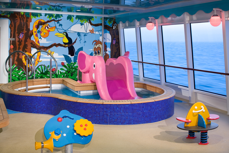 Splashes Kid's Pool on Norwegian Jewel