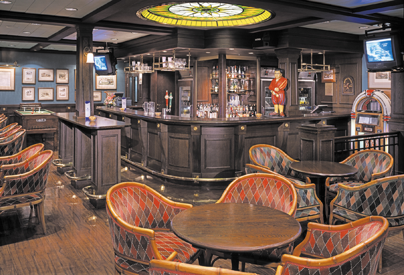Henry's Pub on Norwegian Spirit