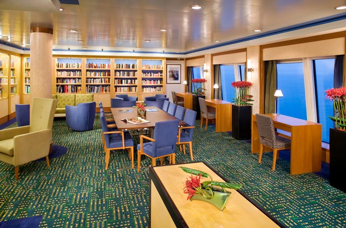 East Indies Library on Norwegian Jewel
