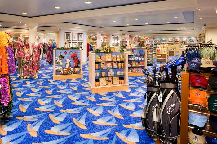Galleria Shops on Norwegian Jewel