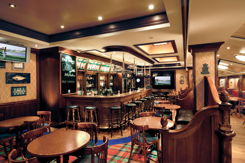 The Red Lion Pub on Norwegian Star