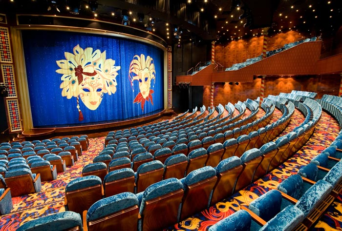 Theater on Norwegian Jewel