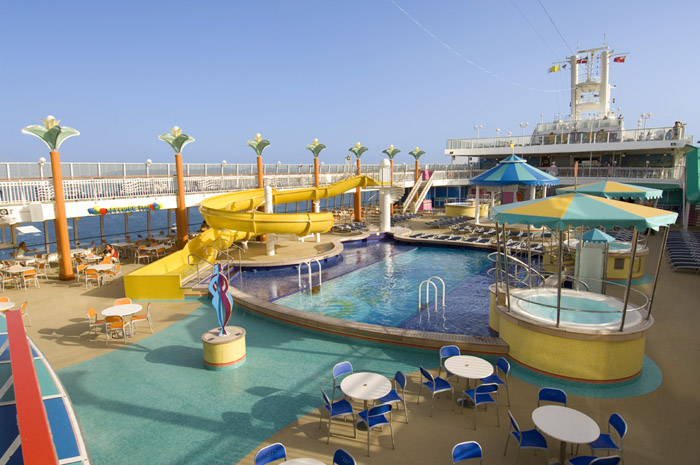 Sapphire Pools on Norwegian Jewel