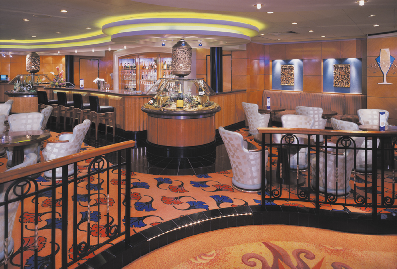 Champagne Bar on Norwegian Spirit