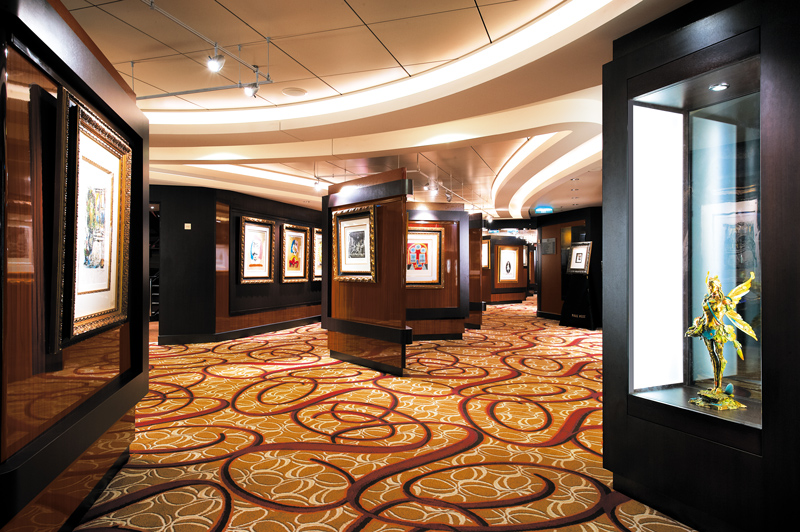 The Collection Art Gallery on Norwegian Jewel