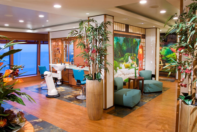 Hair And Beauty Salon on Norwegian Jewel