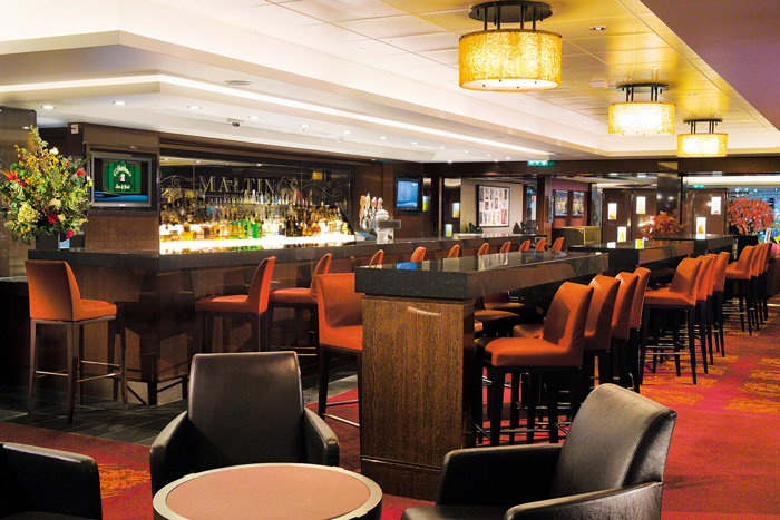 Maltings Whiskey Bar on Norwegian Jewel